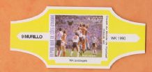 1990 World Cup Cigar Band England v Holland (Yellow)